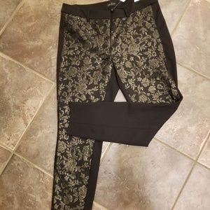 Size 10 Gold and black Jeggings